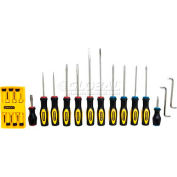 Stanley 60-220 20 PC. Standard Fluted Screwdriver Set