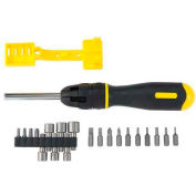 Stanley® 62-574, 21 Piece Multi-Bit Ratcheting Screwdriver Set