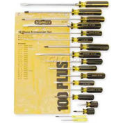 Stanley 66-520-A 100 Plus® 18 Piece Combination Screwdriver Set