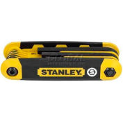 Stanley STHT71801 9 Piece SAE Folding Hex Key Set