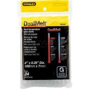 """Stanley® GS10DT, DualMelt™ Mini Glue Sticks 4"""", 24 Pack - Pkg Qty 5"""