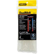 "Stanley® GS15DT, DualMelt™ Glue Sticks 4"", 6 Pack - Pkg Qty 5"