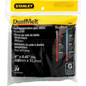 "Stanley® GS20DT, DualMelt™ Glue Sticks 4"", 24 Pack - Pkg Qty 5"