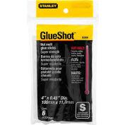 """Stanley® GS500, Super Strength Glue Sticks 4"""", 6 Pack - Pkg Qty 5"""