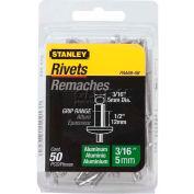 "Stanley® PAA68-5B, Aluminum Rivets 3/16"" x 1/2"", 50 Pack - Pkg Qty 5"