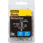 "Stanley PSS44-1B Steel Rivets 1/8"" x 1/4"", 100 Pack"