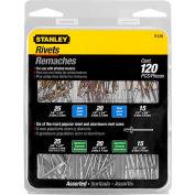 Stanley R120 Rivet Pack Assortment, 120 Pack