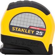 """Stanley®  Leverlock® STHT30825 Tape Rule 1"""" X 25' Tape Measure"""