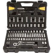 "Stanley STMT71652 1/4"" & 3/8"" Drive SAE/Metric 123 Piece Socket Set"