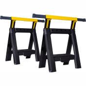 Stanley® STST60626  Adjustable Sawhorse (Twin Pack)
