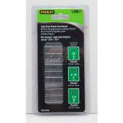 Stanley TRA200BN Light-Duty Staple Assortments, 1,500 Pack