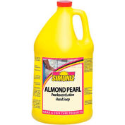 Simoniz® Almond Pearl Pearlescent Lotion Hand Soap 1 Gallon, Pkg Qty 4 - CS0215004