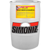 Simoniz® pH-Balanced Hair & Body Wash 55 Gallon, Pkg Qty 1 - CS0280055