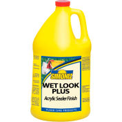 Simoniz® Wet Look Plus Acrylic Floor Sealer/Finish, Gallon Bottle, 4 Bottles - CS07500004