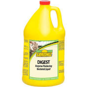 Simoniz® Digest Enzyme-Producing Bacterial Liquid Gallon, Pkg Qty 4 - D0860004