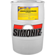 Simoniz® Lemon Deodorizer 55 Gallon, Pkg Qty 1 - L2106055