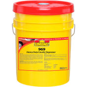 Simoniz® 969 Heavy Duty Caustic Degreaser, 5 Gallon Pail - NU1800005
