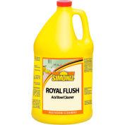 Simoniz® Royal Flush Toilet Bowl and Urinal Cleaner Gallon, 4/Case - R3055004