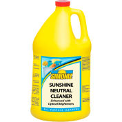 Simoniz® Sunshine Neutral Floor Cleaner, Gallon Bottle, 4 Bottles - S3497004