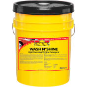 Simoniz® Wash N Shine Vehicle Detergent 5 Gallon Pail, Pkg Qty 1 - W4210005