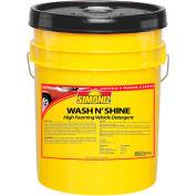 Simoniz® Wash N Shine Vehicle Detergent 5 Gallon Pail, Pkg Qty 1 - W4210005