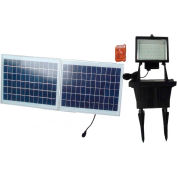 Solar Goes Green Super Bright 156 LED Solar Flood Light SGG-156-3R, Surface Mount, Outdoor
