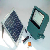 Solar Goes Green Remote Control SMD/LED Solar Flood Light SGG-F108-2R, Surface Mount, Outdoor