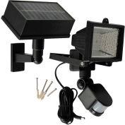 Solar Goes Green Solar Powered Motion Security Light SGG-PIR-54, Surface Mount, Outdoor, 6 Volt