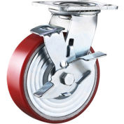 "Wheel Brakes for Spanco 6"" polyurethane casters"