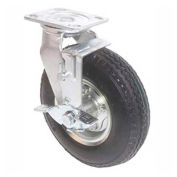 1 Ton Cap., Spanco, Aluminum Gantry Crane, Pneumatic Tire, Single Tire, Without Brake