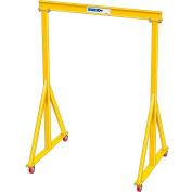 "5 Ton Capacity, Portable, Spanco E-Series, Steel Gantry Crane, 12' Span,  Fixed Height 11'-0"""