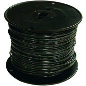 Southwire 27021501 TFFN 18 Gauge Building Wire, Stranded Type, Black, 500 Ft - Pkg Qty 4
