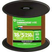 Southwire 64169644 18/5 Thermostat Brown, 250 Ft - Pkg Qty 2