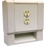 Berko® Institutional Convector Duplex Receptacle HBBDR, Rated 15 Amps At 120VAC, NEMA 5-15R