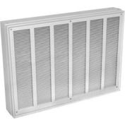Berko® Commercial Fan Forced Wall Heater MFQ8007, 8,000W at 277V