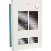 Berko® Shallow Wall Fan Forced Zonal Heater SED1512 120V, 1500 Watts, Northern White
