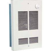 Berko® Shallow Wall/Ceiling Fan Forced Zonal Heater SED1512 120V, 1500 Watts, Navajo White