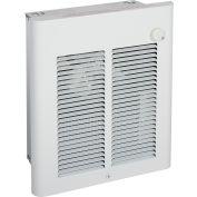 Berko® Small Room Fan-Forced Wall Heater SRA2020DSF, 2000W, 208V