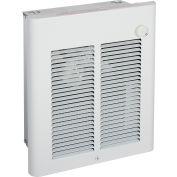 Berko® Small Room Fan-Forced Wall Heater SRA2024DSF, 2000/1500W, 240/208V