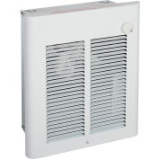 Berko® Small Room Fan-Forced Wall Heater SRA2027DSF, 2000/1500W, 277/240V