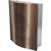 Berko® SmartSeries® Architectural Digital Wall Heater SSARWH4807BZ, 277V, 4000W, Bronze