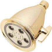 "Speakman Anystream® Hotel 5-Jet 4-1/4"" Dia. Shower Head, Polished Brass Finish, 2.5 GPM"
