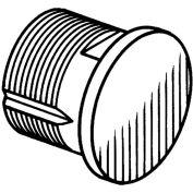 Dummy Mortise Cylinder - Aluminum - Pkg Qty 20