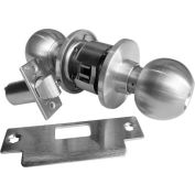 Extra Heavy Duty Ball Knobs - Passage Set Stainless Steel