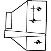 Overlapping Strike - Zinc Plated For Ul520/Ul525/Ul256 - Pkg Qty 10
