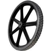 "Rubbermaid® 20"" Non-Pneumatic Wheel for Rubbermaid® Big Wheel Cart"