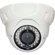 COP Security 3 AXIS IR Dome Camera, INS-D281271, 3 Axis, 2.8-12mm Lens