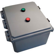 Encl Motor Starter, 50A, 3ph, direct-online voltage, 4X poly, Start/Stop, 480VAC coil, O/L 30-43A
