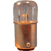Springer Controls / Texelco LA-11E15 70mm Stack Lamp, 120V Filament Bulb