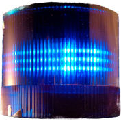 Springer Controls / Texelco LA-16-4B 70mm Stack Light, Steady, 24V AC/DC LED - Blue